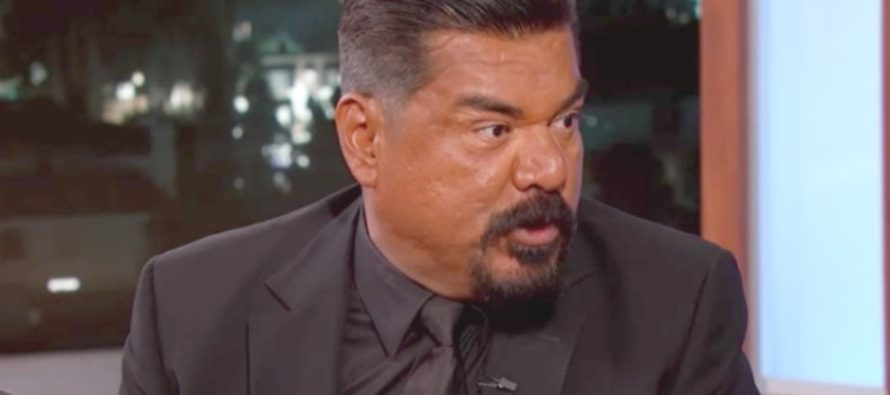 "Celebrity George Lopez: ""You wanna make the streets safer, deport the police!"""