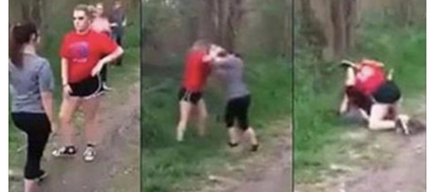Viewers Are Shocked At Disgraceful Behavior Of Parents As Their Girls Brutally Beat Each Other [VIDEO]