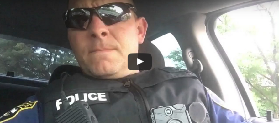 Fed-up Cop Telling Anti-Cop Crowd Off, Sweeps Social Media For All The Right Reasons [VIDEO]