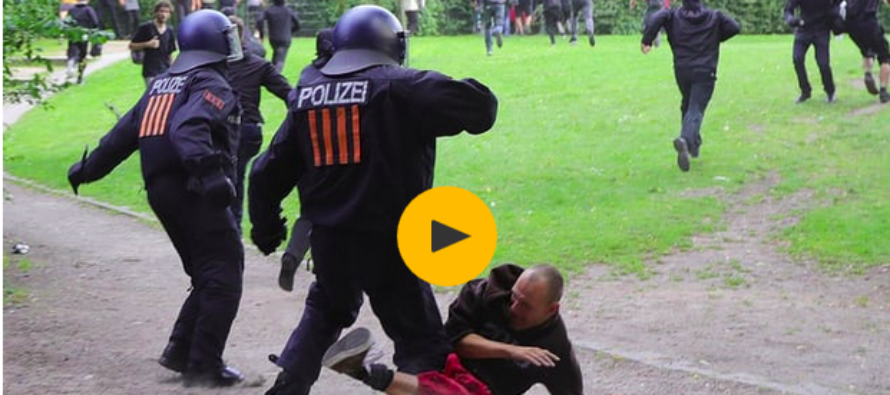 Violent Day Of Clashes As Hamburg Is Gripped With Anti-G20 Protests