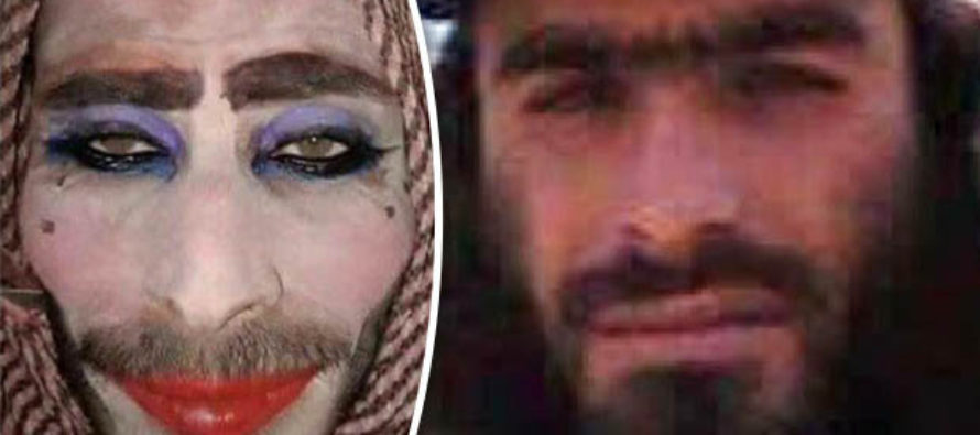 ISIS Cowards CROSSDRESS As WOMEN To Try And Sneak Out Of Mosul – But Are TOO Ugly To Fool Anyone!