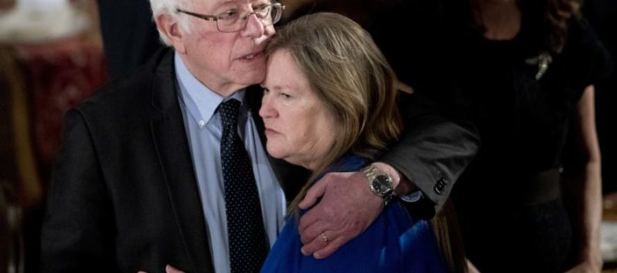 Jane Sanders Cries 'Sexism' After Being Accused of Bank Fraud
