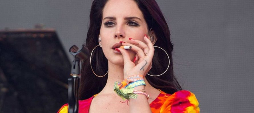 "Singer Lana Del Rey Releases New Album Asking ""Is This The End Of America?"""