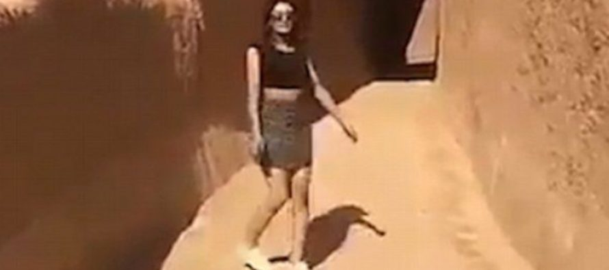 Model ARRESTED In Saudi Arabia For Walking Streets In Short Skirt – Where Are The Feminists Now?