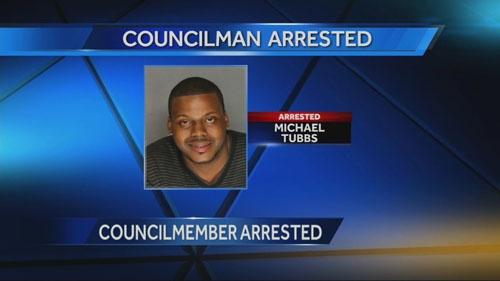 michael-tubbs-arrested-stockton