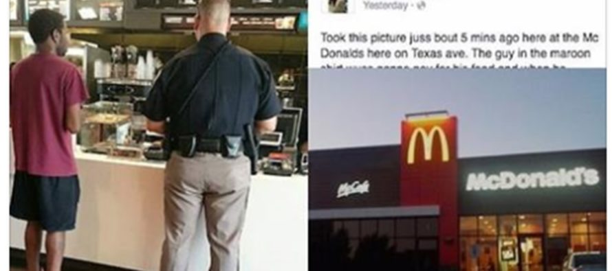 McDonald's Customers WATCH Encounter Between Black Teen And Cop And Record It!