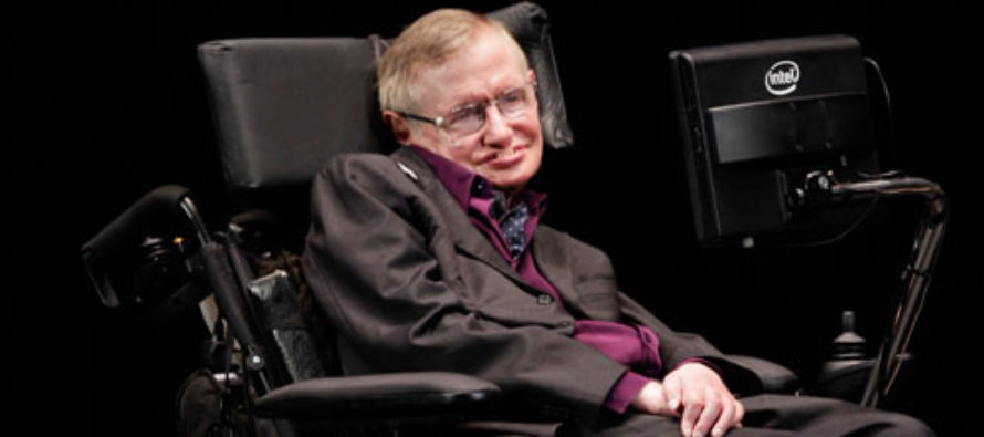 Stephen Hawking: Trump's Withdrawal From Paris Farce Will Cause 250° Temperatures, Sulfuric Acid Rain
