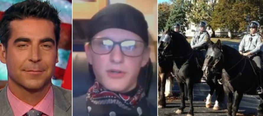 Awkward Leftist Trolls Fox News And Calls Police Horse Racist [VIDEO]