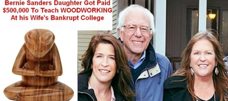 Bernie's Daughter Paid $500k To Teach Woodworking At Jane's Bankrupt College