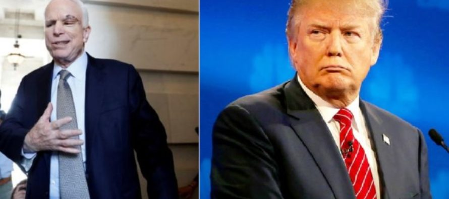 John McCain Reacts To Trump's Latest Military Ban