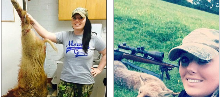 Single mother has given up supermarkets & instead hunts boar, deer and foxes for meals