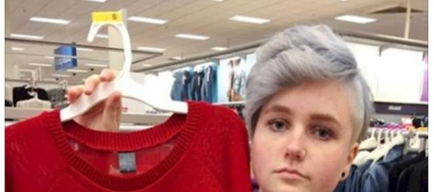 Girl Deeply Outraged By Sweater Sold At Target [PHOTO]