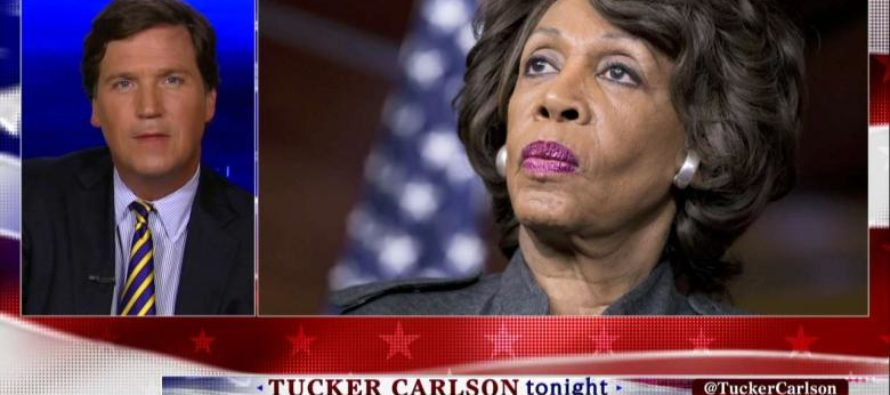 WATCH: Tucker Carlson Holds NO Punches: Maxine Waters' $4.3M 'Housing Coup' 'Almost Qualifies' Her for HUD Secretary'