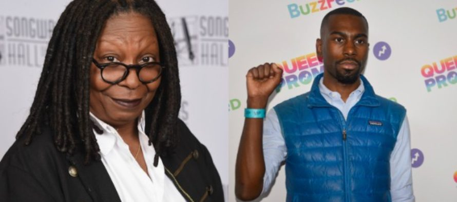 Whoopi Goldberg Puts DeRay McKesson In His Place For Calling 'Planet Of The Apes' Racist [VIDEO]