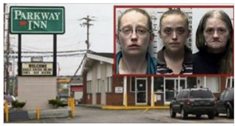 Police Exit Motel Room In Tears After Seeing the Abuse These Sick Women Did to Kids With Sheets