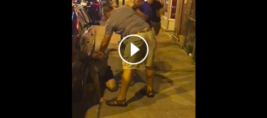 """FIGHT VIDEO: This may be the best kick you've seen since 300 and """"This is Sparta!"""""""