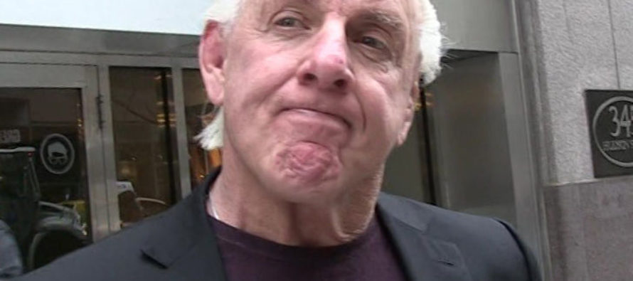 Wresting Icon Ric Flair Hospitalized: 'We Need Your Prayers' [VIDEO]