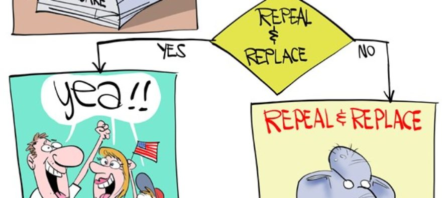 Repeal GOP (Cartoon)
