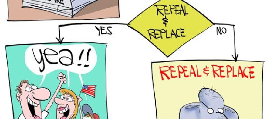Repeal GOP (Cartoon)