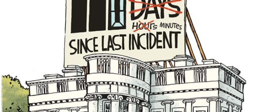 White House Incidents (Cartoon)