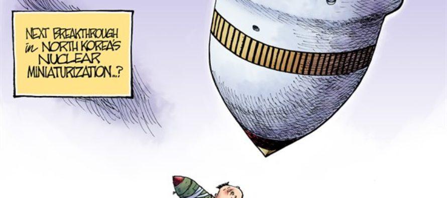 North Korea Smithereens (Cartoon)