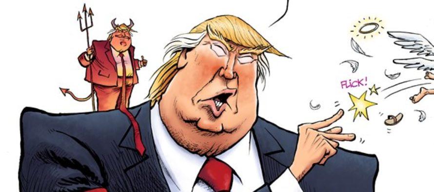 Trump Advisors (Cartoon)