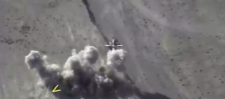 VIDEO: Russian airstrikes annihilate 200 ISIS terrorists