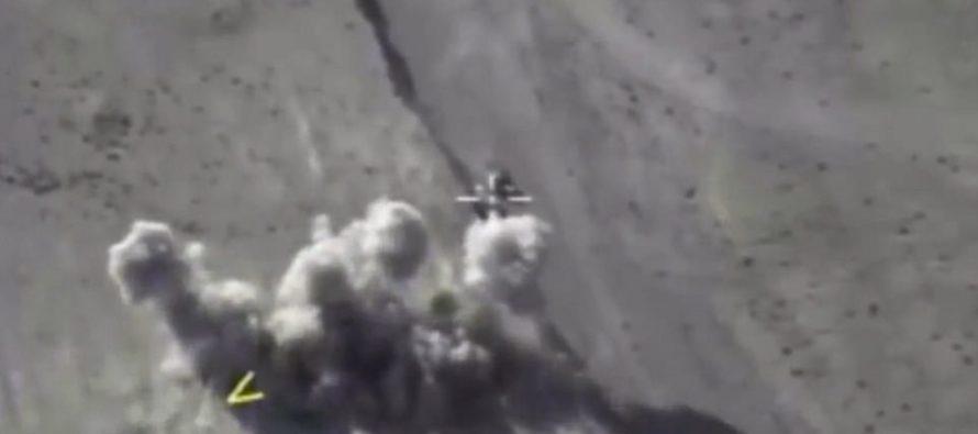 VIDEO: Russian airstrikes annihilate 200 ISIS terrorists