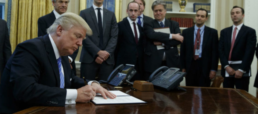 SOLID: President Trump Terminates 11,000 Jobs In Federal Government