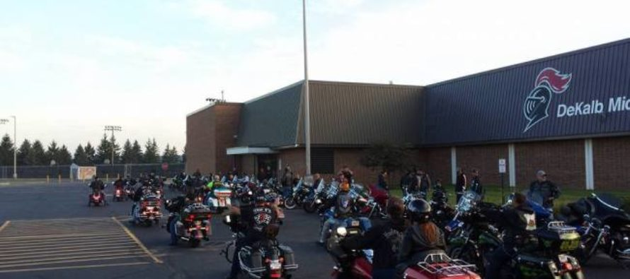 Biker Gang Of 50+ Escort Bullied Boy With Suicidal Thoughts To First Day Of School [VIDEO]