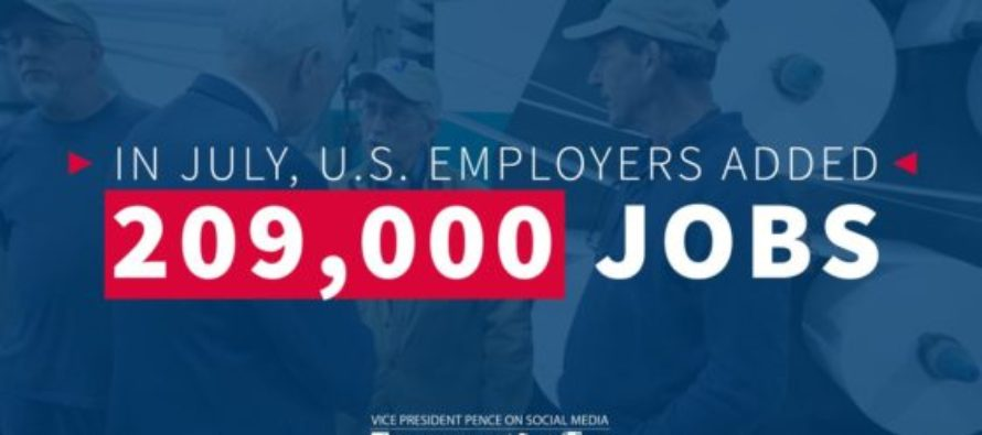 GOOD NEWS! U.S. Has Crushed Expectations In Creating Jobs – 200,000+ In July Alone!