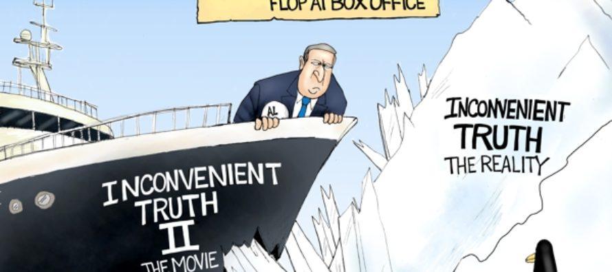 Gore vs Truth (Cartoon)