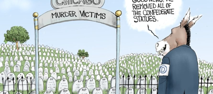 Grave Indifference (Cartoon)