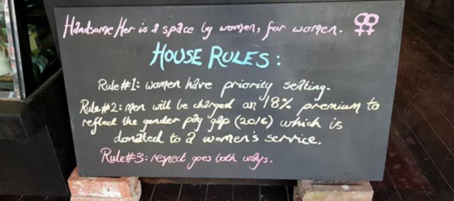 Cafe Makes Men Pay Extra, Gives Women Priority Seating