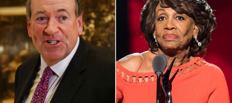 Mike Huckabee Says America Has Secret Weapon To Destroy Kim Jong-Un: 'Send Him Maxine Waters'