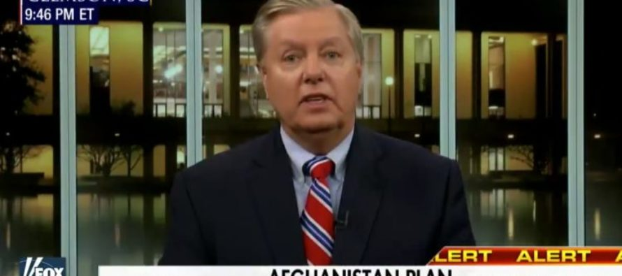 Lindsey Graham Happy With New Afghani Plan – 'If Congress Votes Down, They'll Own the Next 9/11' [WATCH]