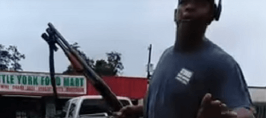Ex-SWAT Deputy Grabs His Shotgun To Give A Message To Hurricane Harvey Looters! [VIDEO]