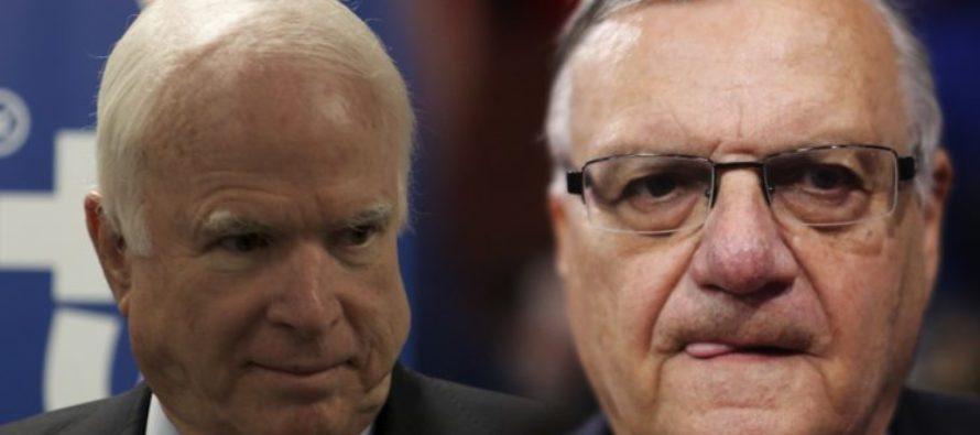 McCain Attacks Trump Over Arpaio Pardon – 'He Has Shown No Remorse!'