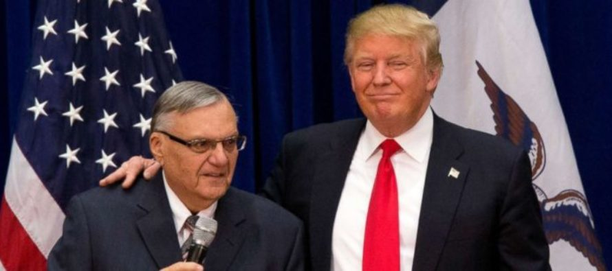 Arpaio Responds To President Trump's Pardon: 'I Love That President, He Supports Law Enforcement' [VIDEO]