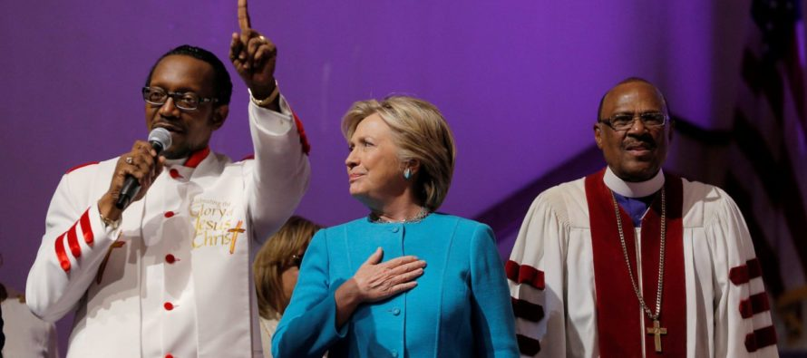 Hillary Clinton's New Career? She Says She Wants to be a PASTOR