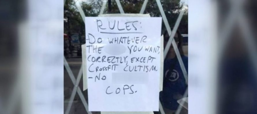 "Gym Owner Has One Rule That This Particular Veteran Will Not Accept – ""No F***ing Cops"" [VIDEO]"