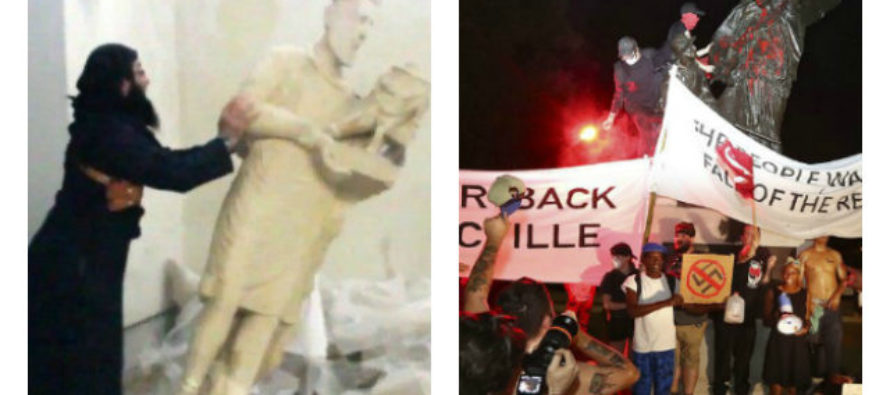 America Left Adopts Taliban Tactics in Destruction of Historical Icons – What Comes Next?