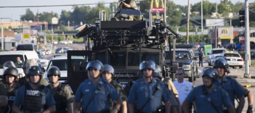 Trump To End Obama's BAN On Military Equipment For Police