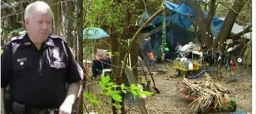 Police Come Across Alarming Scene In Woods, Discovers Couple's 22-Year Secret
