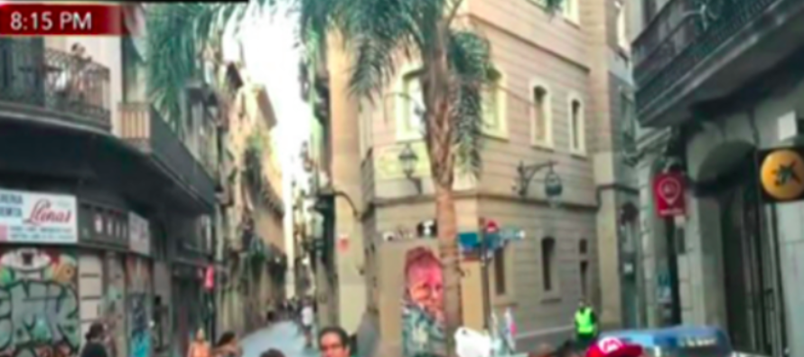 BREAKING: Gunmen Open Fire On Police In Possible Second Barcelona Terror Attack Today [VIDEO]