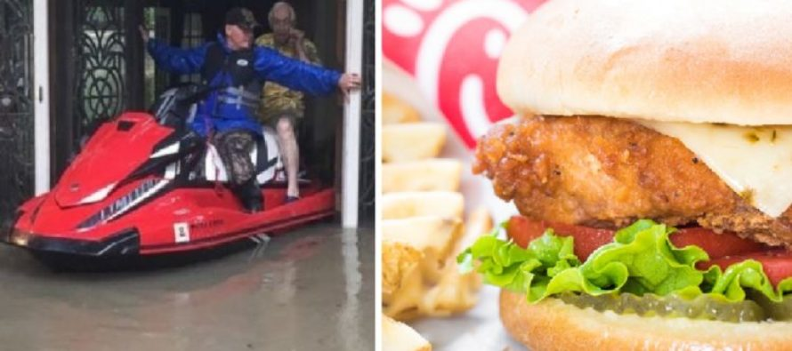 When Two Customers Call In For Food And Help, Chick-fil-A Organizes Jet Ski Rescue [VIDEO]