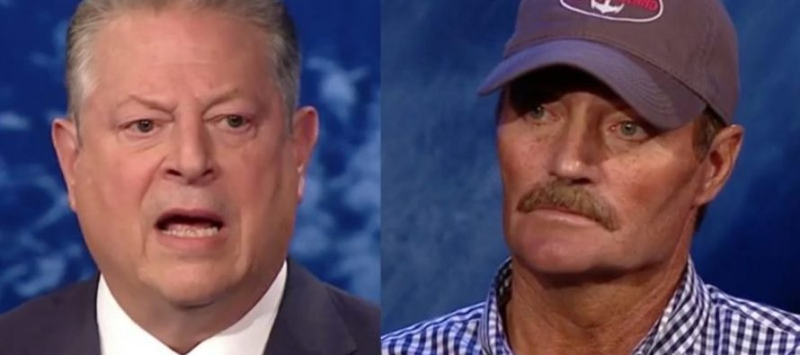 Man Who Lived On Ocean For 50 Years Confronts Al Gore – 'Water Levels are Same as They Were Since 1970' [VIDEO]