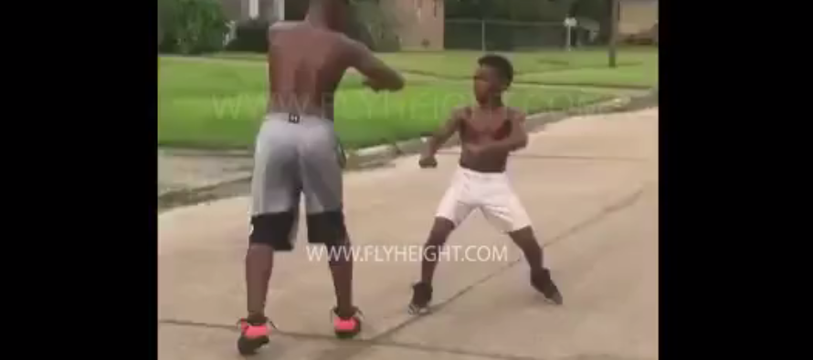 Little Boy Takes Down Teen Twice His Size After He Tries To Steal His Bike [VIDEO]
