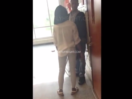 Dude Squares Up To Box His Girlfriend When She Confronts Him For Cheating