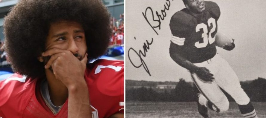Jim Brown Speaks On Kaepernick: 'I'm American — I Don't Desecrate My Flag and My National Anthem'